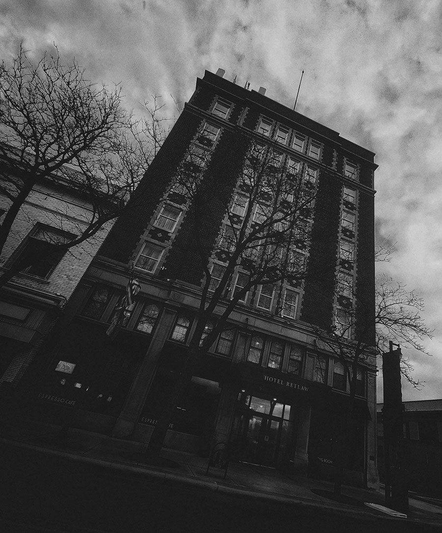 Hotel Retlaw haunted hotel in Fond du Lac, Wisconsin